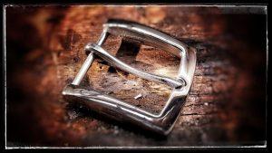 Schnalle für Ledergürtel