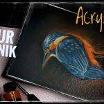Lasurtechnik mit Acrylfarbe