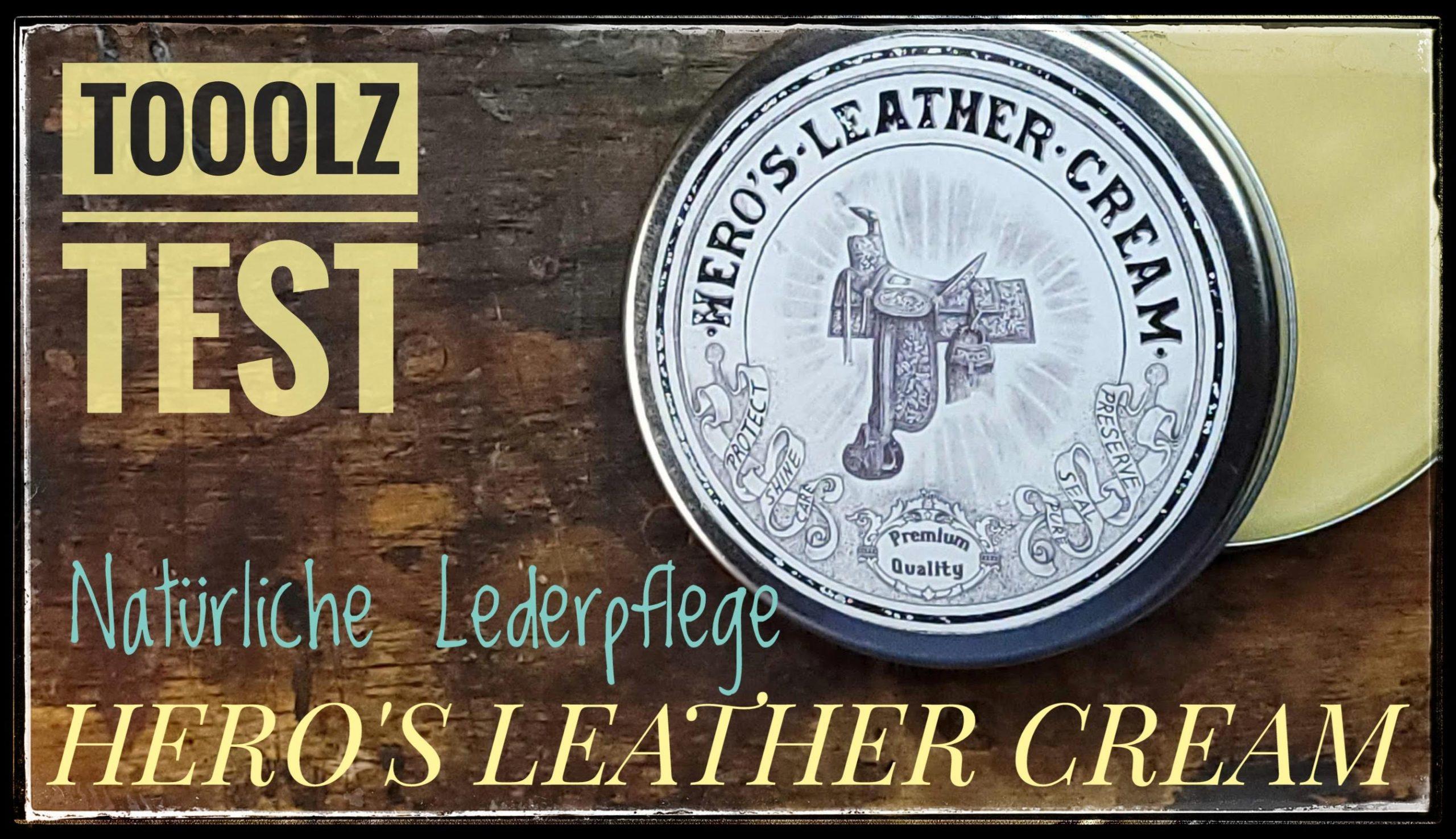 Lederpflege – Hero´s Leather Cream